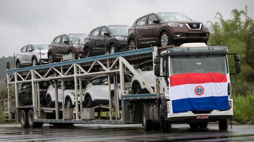 Nissan Kicks brasileiro começa a ser exportado ao Paraguai