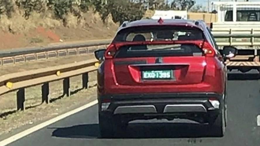 Flagra: Mitsubishi Eclipse Cross é testado no Brasil