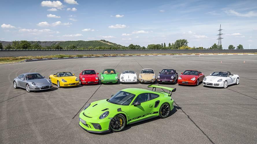 Porsche 911 - 70 years of progress