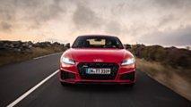 Audi TTS, la prova sull'Isola di Man