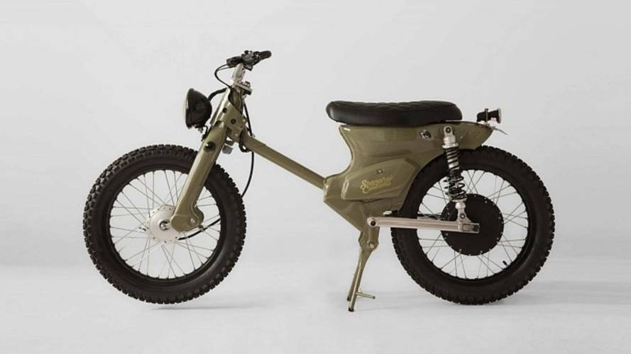 Honda Super Cub Gets Retro Electric Treatment