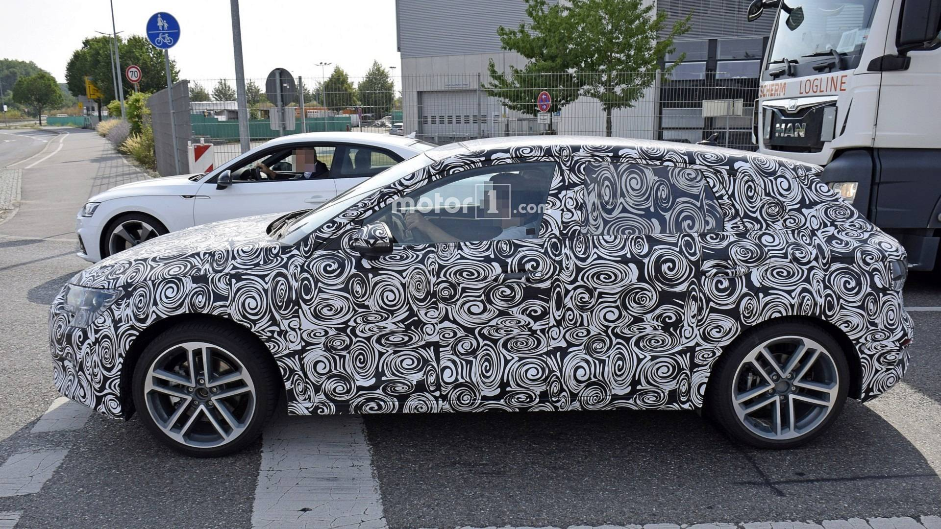 New Audi S Spied For The First Time UPDATE A Spotted - Audi a3 hatchback