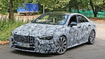Mercedes-AMG CLA 45 Spy Shots