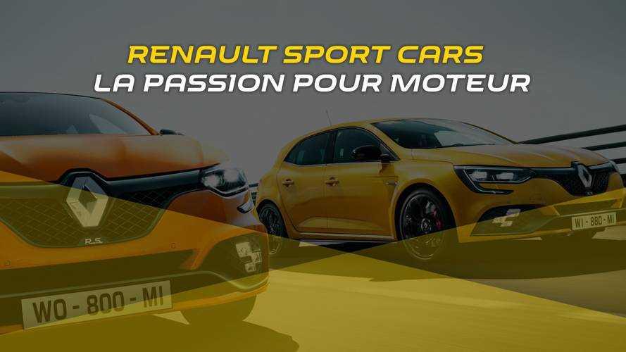 Renault Sport Cars - La passion pour moteur