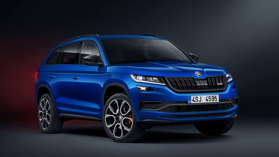 Skoda Kodiaq vRS goes on sale with £42,870 price tag