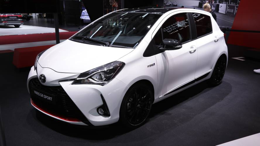 Toyota Yaris GR Sport debuts in Paris with visual, hardware tweaks