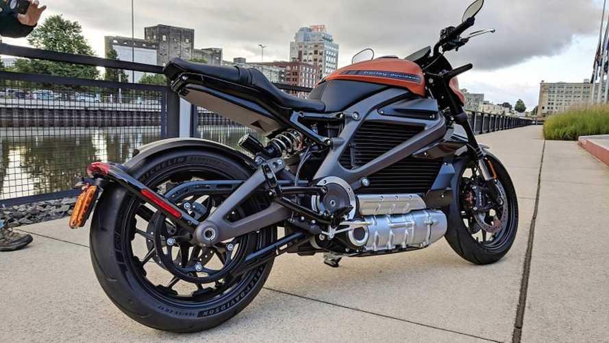 Harley-Davidson Live Wire de produção