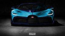 Bugatti Divo Livery Rendering