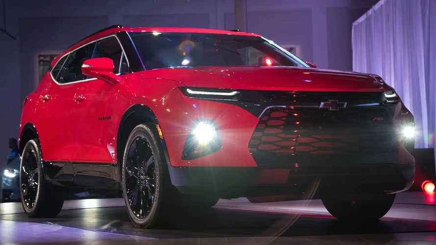 Chevrolet Blazer e novo Camaro têm peças registradas no Brasil