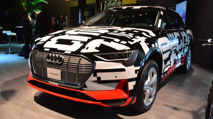 Salão de SP: Audi oficializa E-Tron no Brasil em 2019