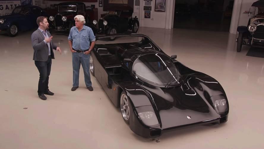 Ultra-Rare Porsche Schuppan 962CR Visits Jay Leno's Garage