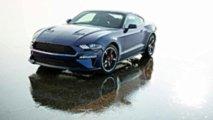 Kona Blue Ford Mustang Bullitt