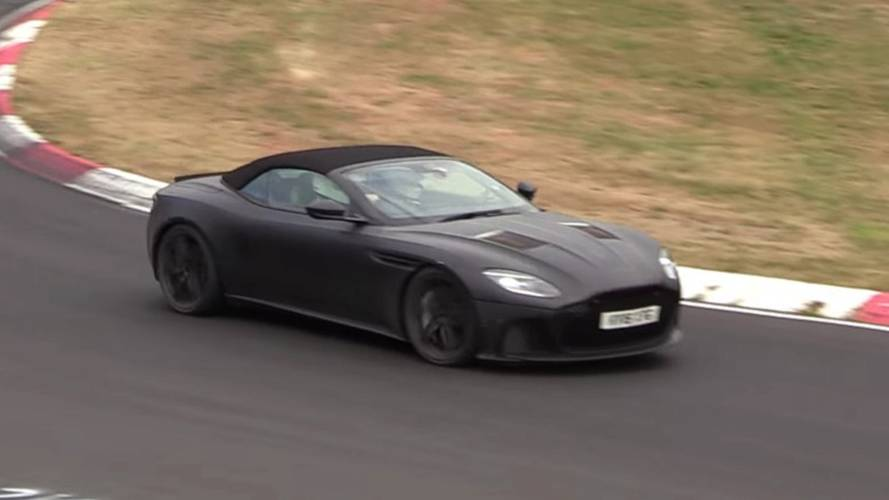 Aston Martin DBS Superleggera Volante Sounds Menacing In Spy Video