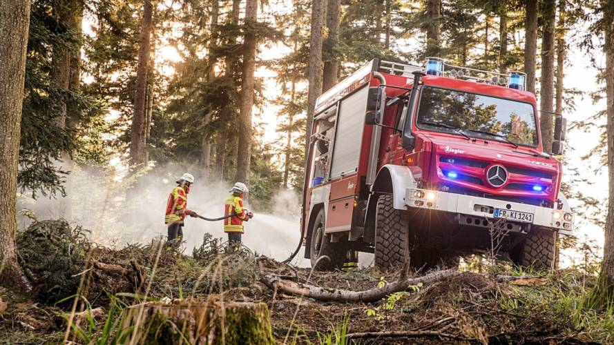 Seriously Cool Mercedes-Benz Unimog Is Ready To Battle Blazes