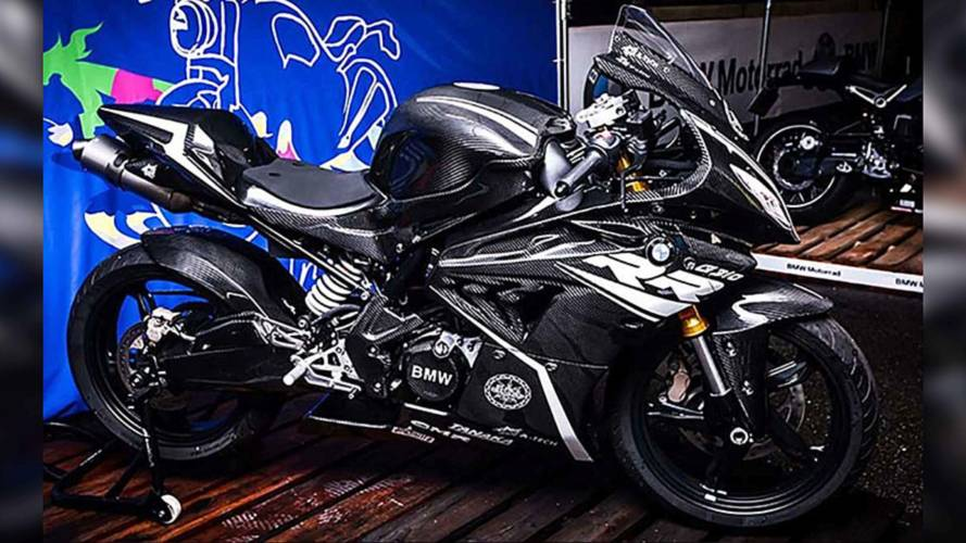 The BMW G 310 RR Concept Makes an Appearance in Japan