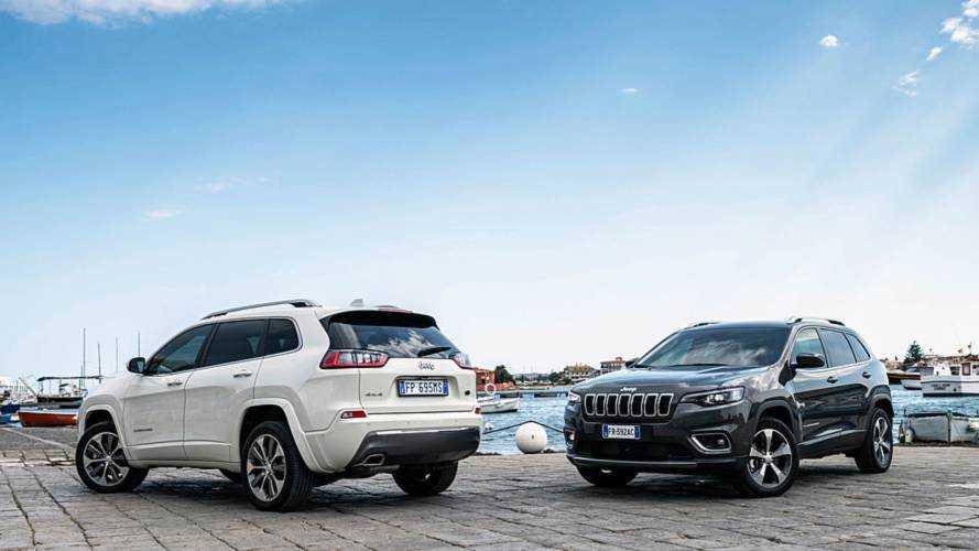 Makyajlı 2019 Jeep Cherokee Avrupa'ya geliyor