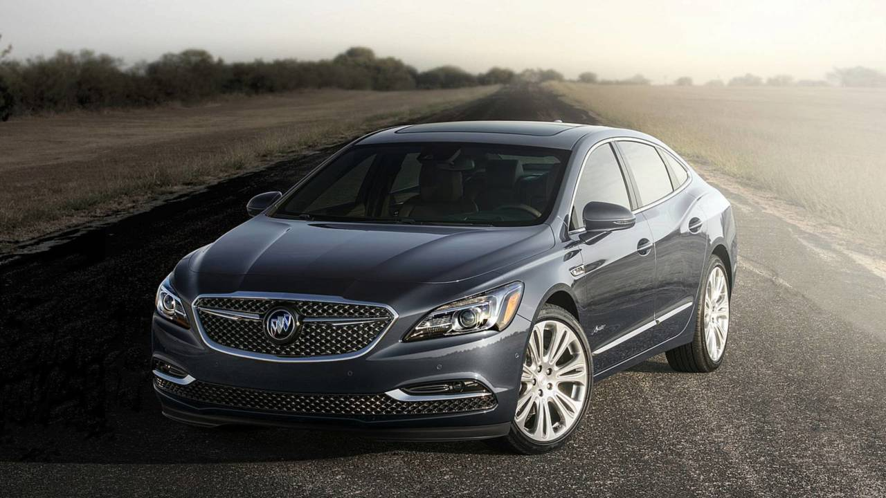 3. Buick LaCrosse: 67.5 Days