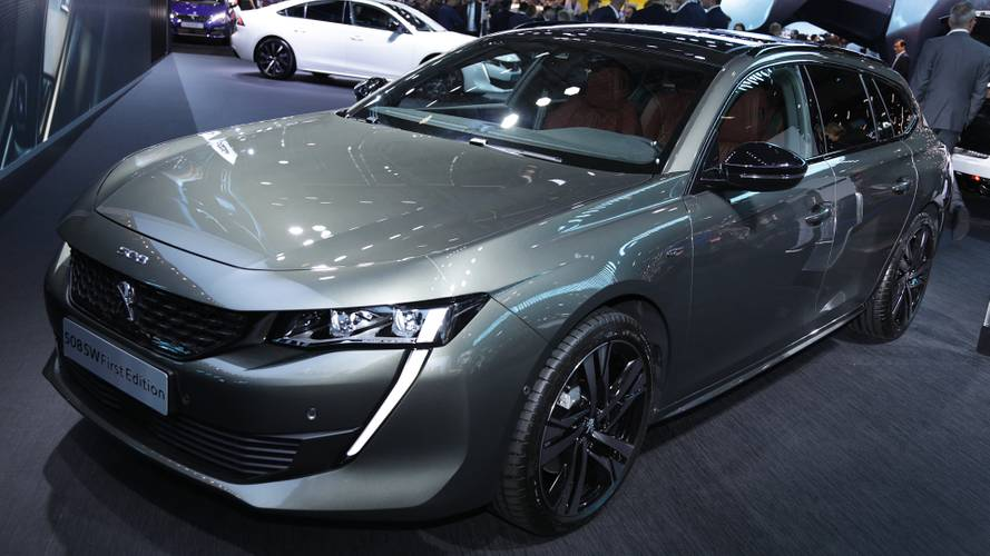 Peugeot 508 SW, al Salone di Parigi si parte dalla First Edition