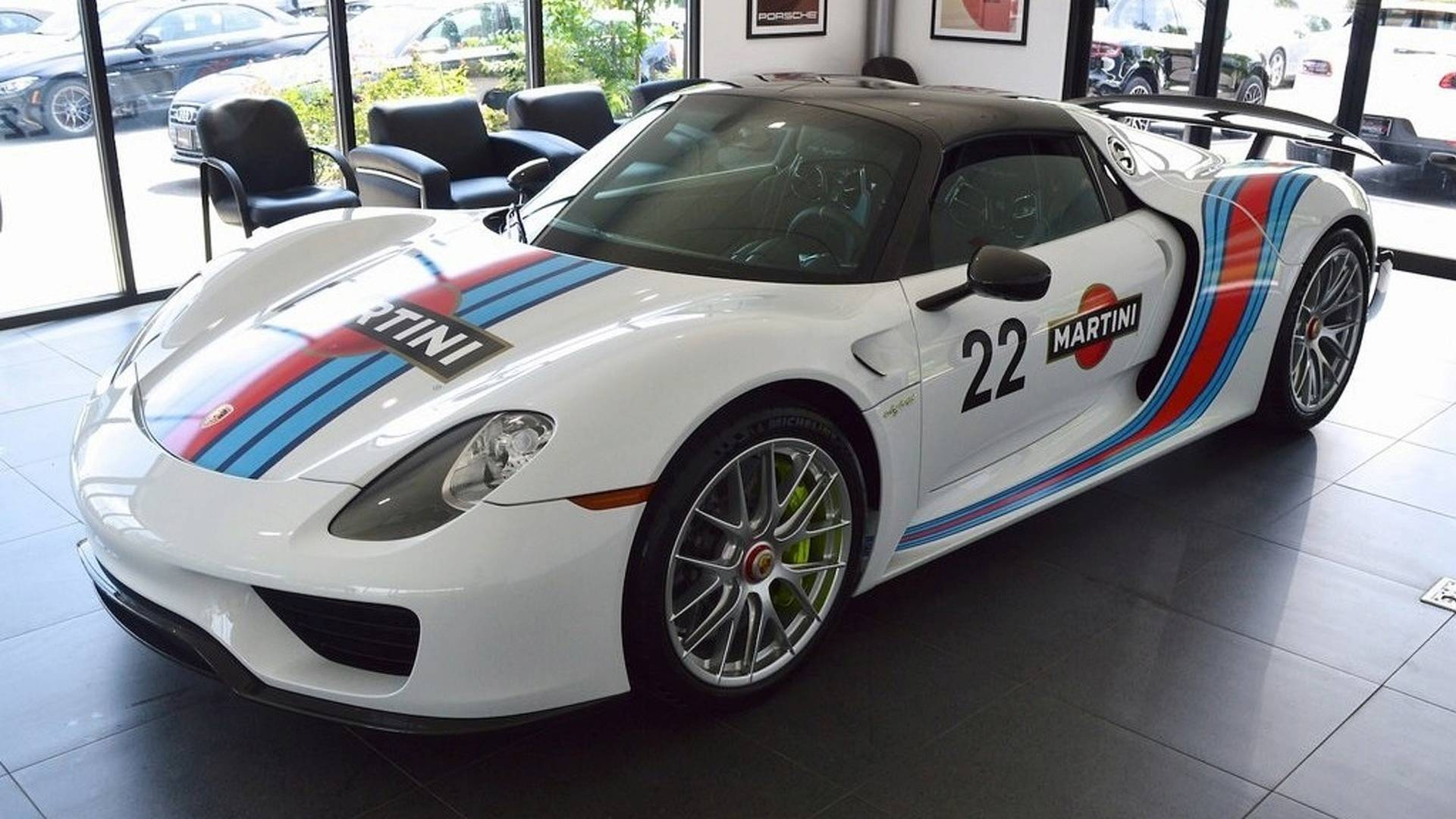Take Home This 45 Mile Porsche 918 Weissach For A Cool 22 Million