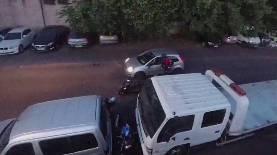 Watch Some Bike Thieves Receive Instant Karma