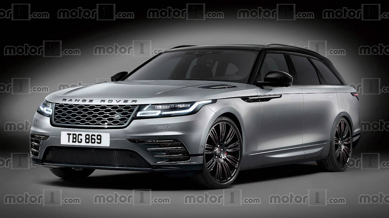 Range Rover Rugged Wagon render