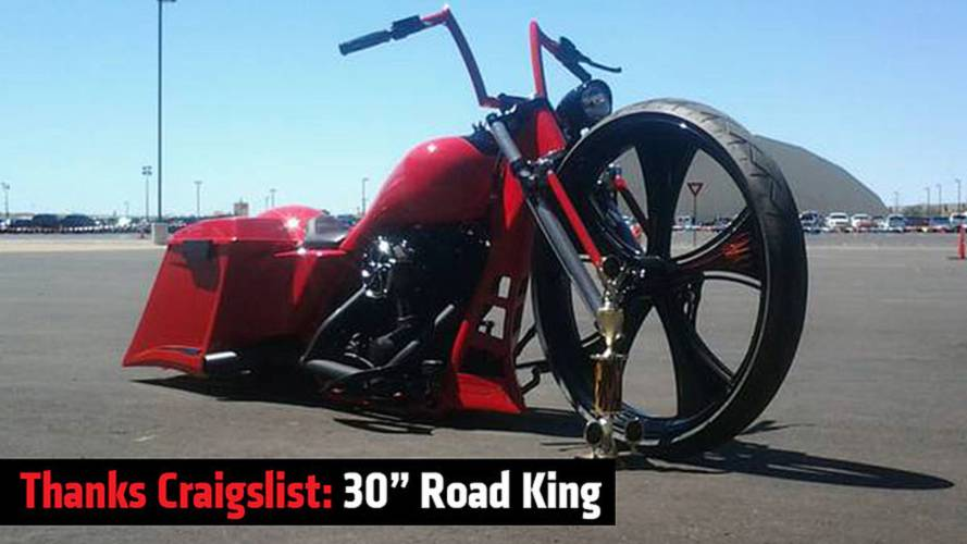Thanks Craigslist: 30-Inch Road King