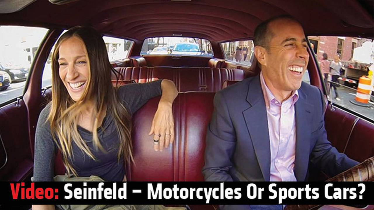Seinfeld - Motorcycles or Sports Cars?