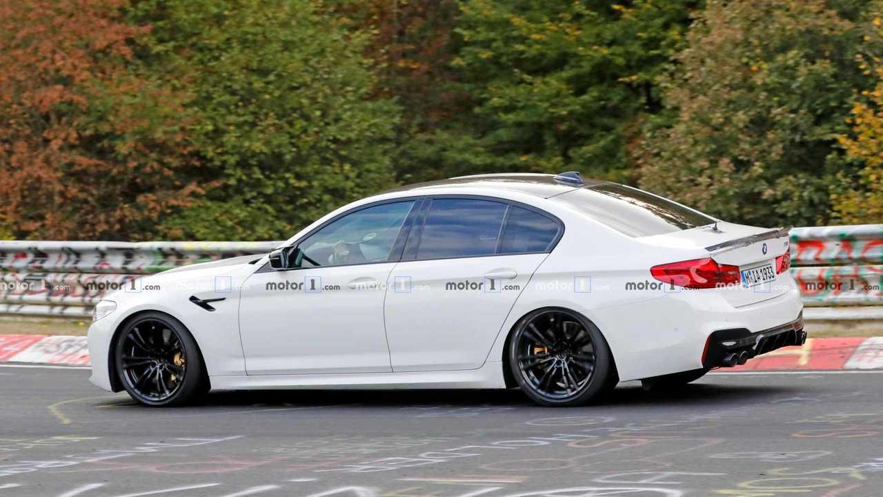 BMW M5 CS Erlkönig