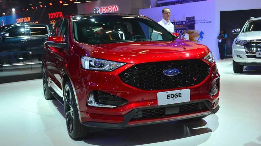 Salão de SP: Ford Edge ST de 335 cv chega ao Brasil