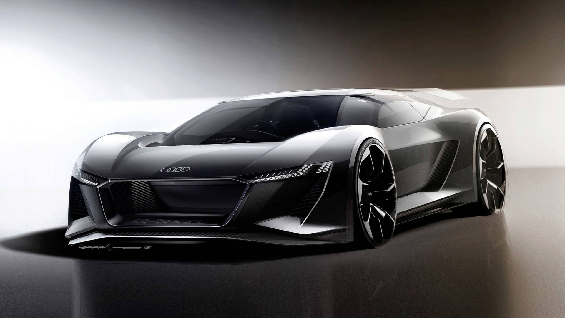 Audi Pb18 E Tron Looks Out Of This World In Official Videos