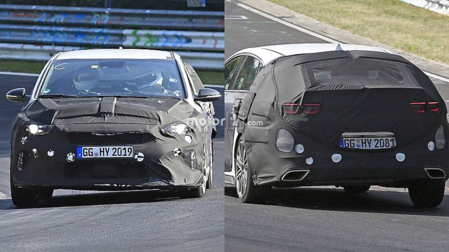 Kia Caught Testing Proceed GT, Ceed GT At The Nurburgring