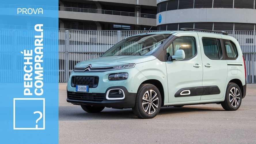 Citroën Berlingo (2018), perché comprarla... e perché no