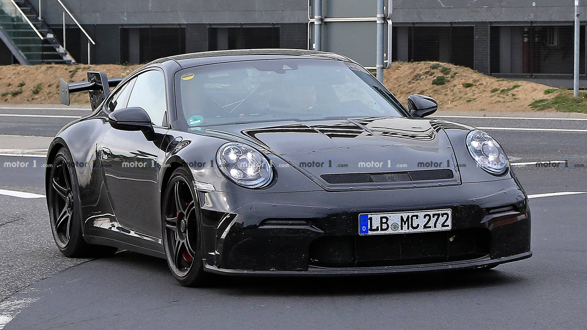 2020 Porsche 911 GT3 Spied Again With The Same Massive ...