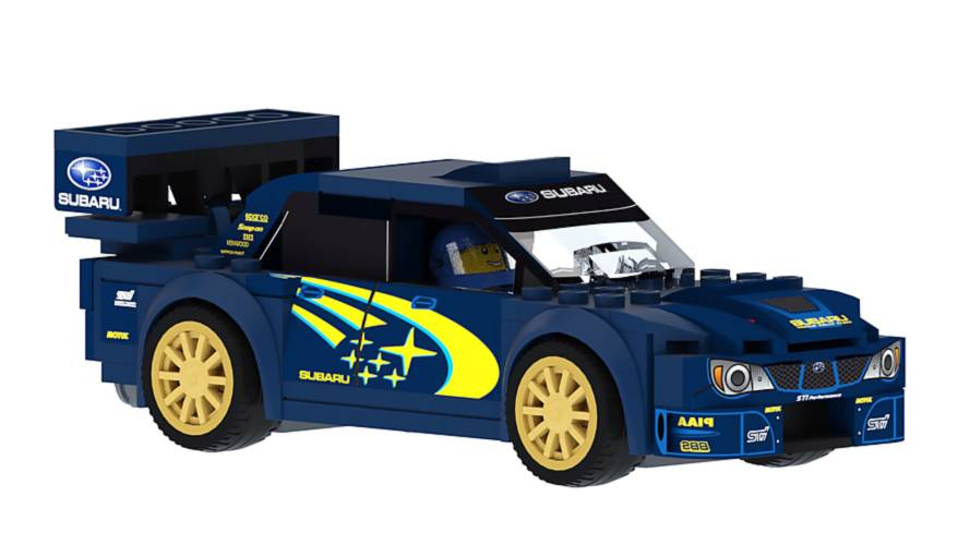 Dear Lego, Please Make This 2006 Subaru WRX STI WRC Rally Car