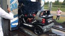 Smart Crossblade car wash
