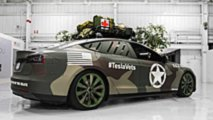 Model S camouflage militaire