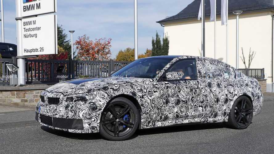 La future BMW M3 s'entraîne sur le Nürburgring