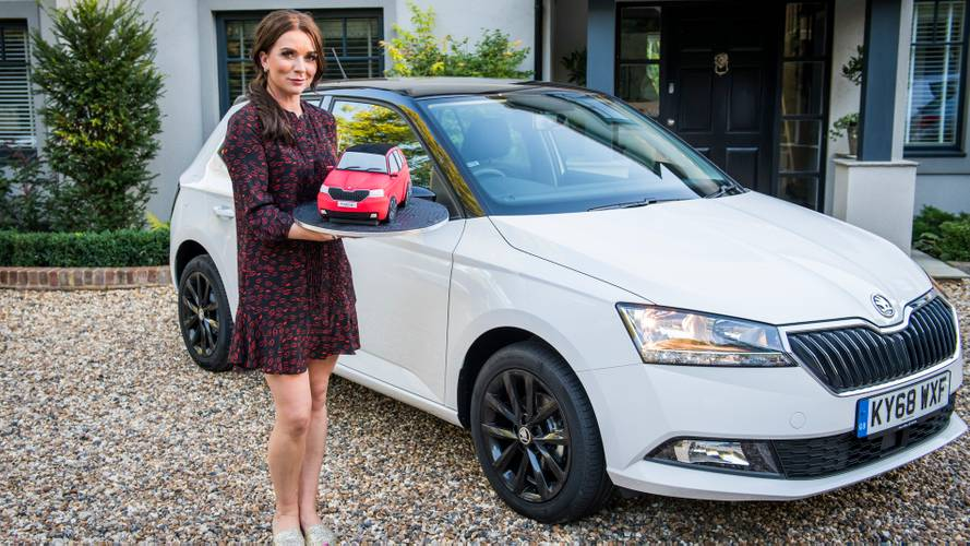 Bake Off's Candice cooks up sweet treat to launch new Skoda Fabia