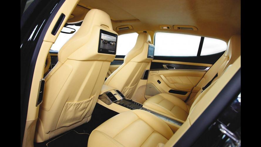 "Techart Porsche Panamera: interni ""da prima fila"""