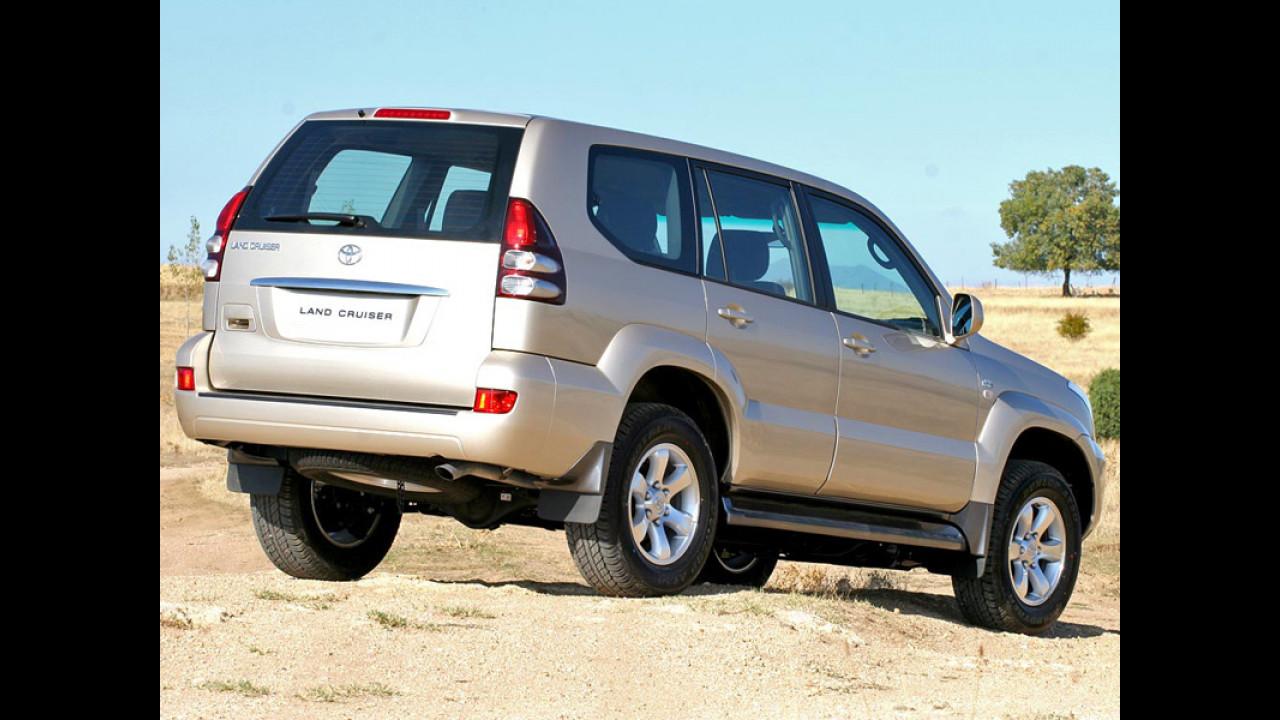 Toyota Land Cruiser model year 2007