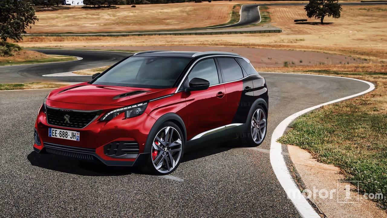 Peugeot 3008 GTi render