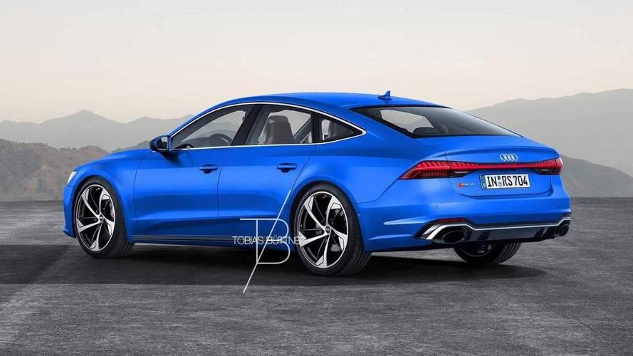 Audi RS7 2019 Render