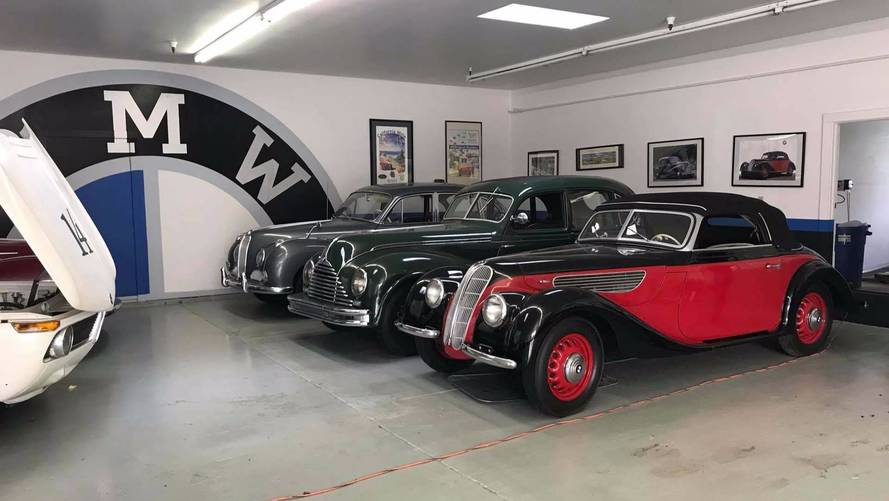 Collection Of Classic BMWs Saved From California Wildfires