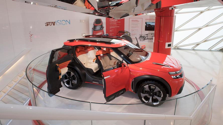 Les Citroën aventurières rassemblées au C_42