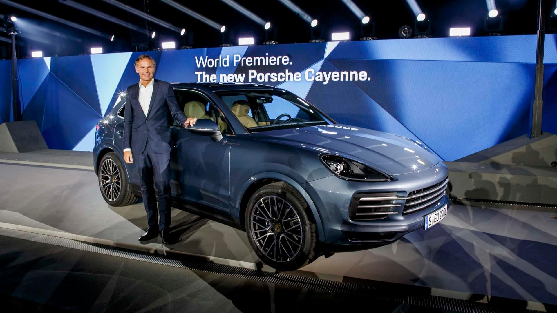 2019 Porsche Cayenne Debuts Sleeker Look, Sheds Weight