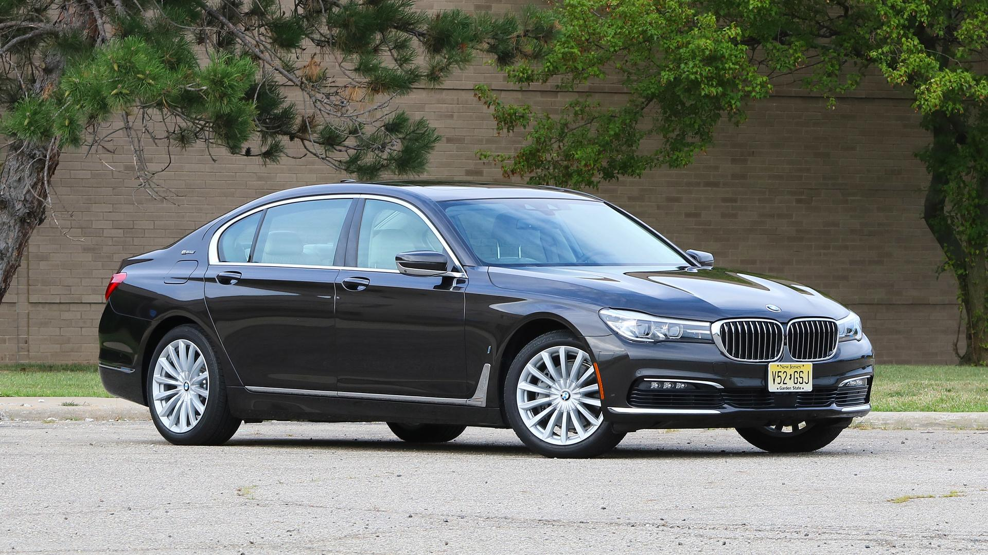 2017 BMW 740e Review Luxury Goes Slightly Electric