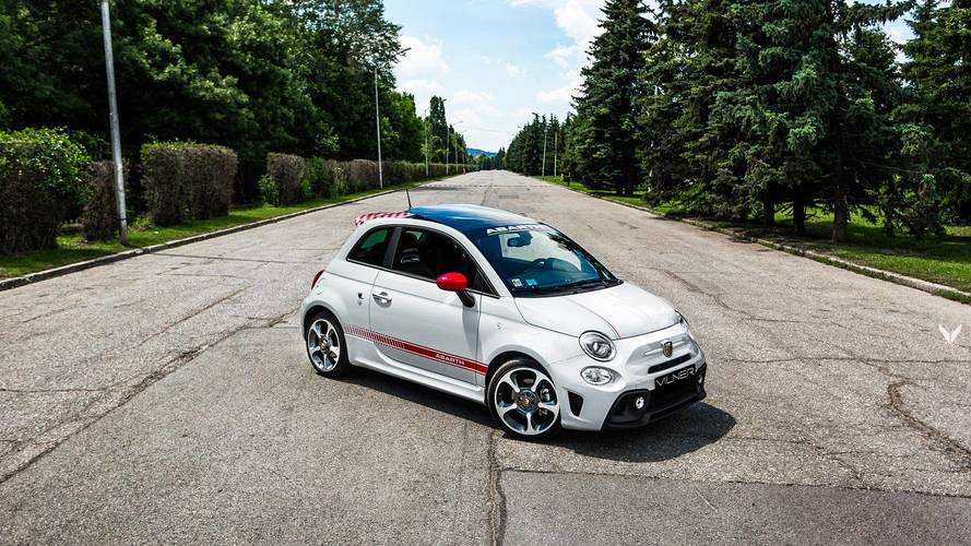 Aftermarket Tuning Vilner Gives A Fiat 500 Abarth Handsome Italian Makeover