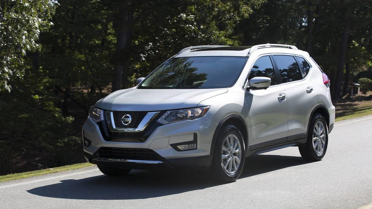 7. Nissan Rogue: 175,267 Units