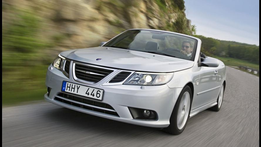 La Saab 9-3 cabrio verrà prodotta a Trollhattan