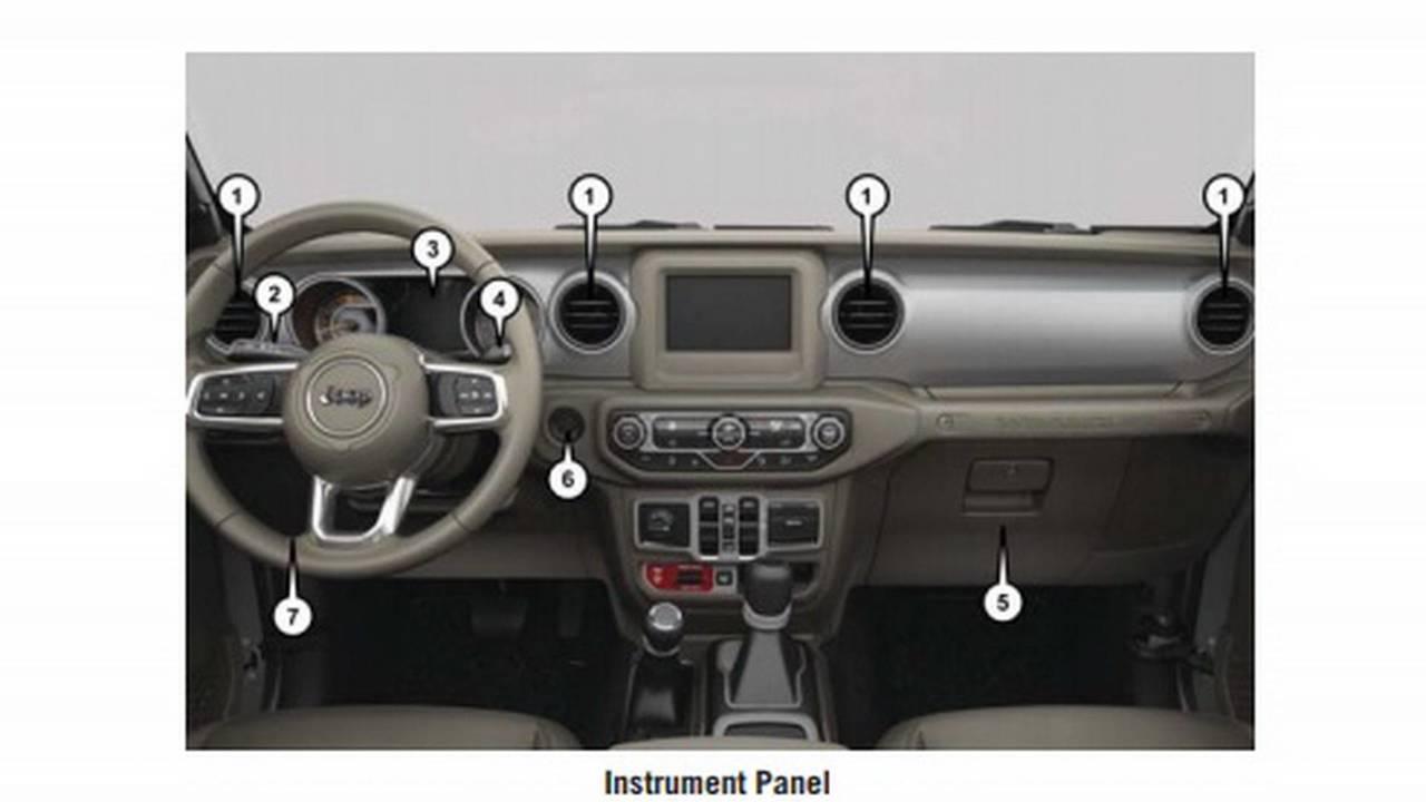 2018 Jeep Wrangler leaked owner's manual, user guide